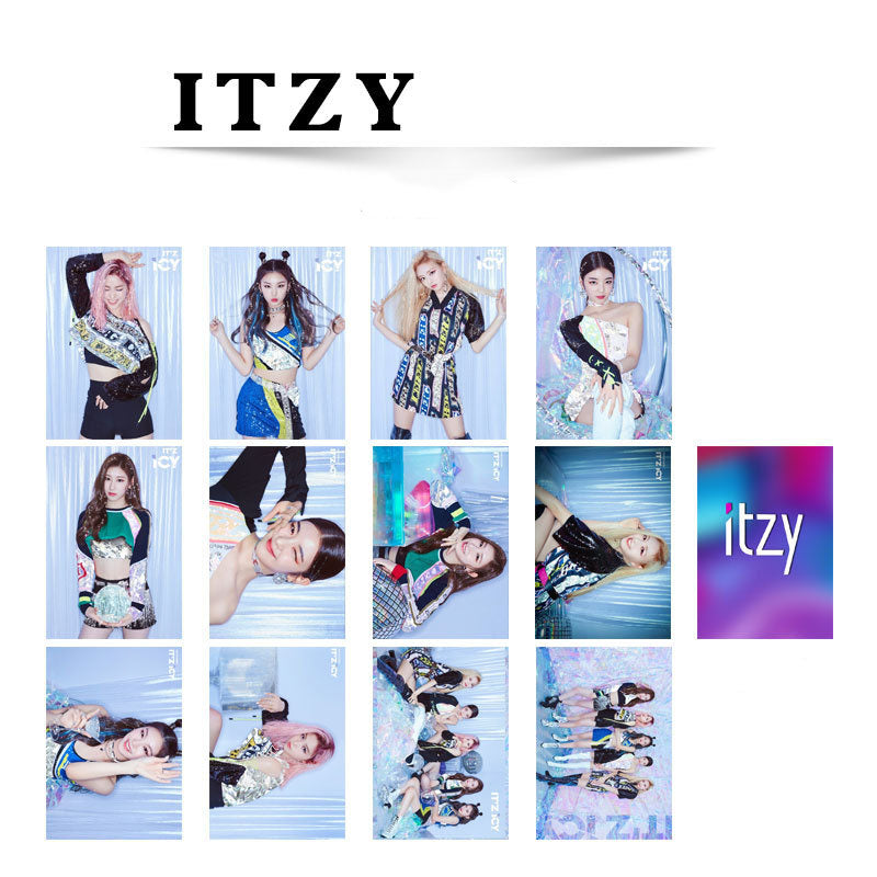 ITZY ICY Double-sided Mini Card