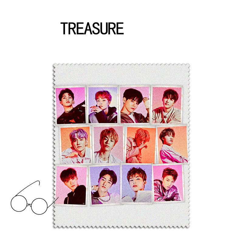 TREASURE Album Glasses Cloth