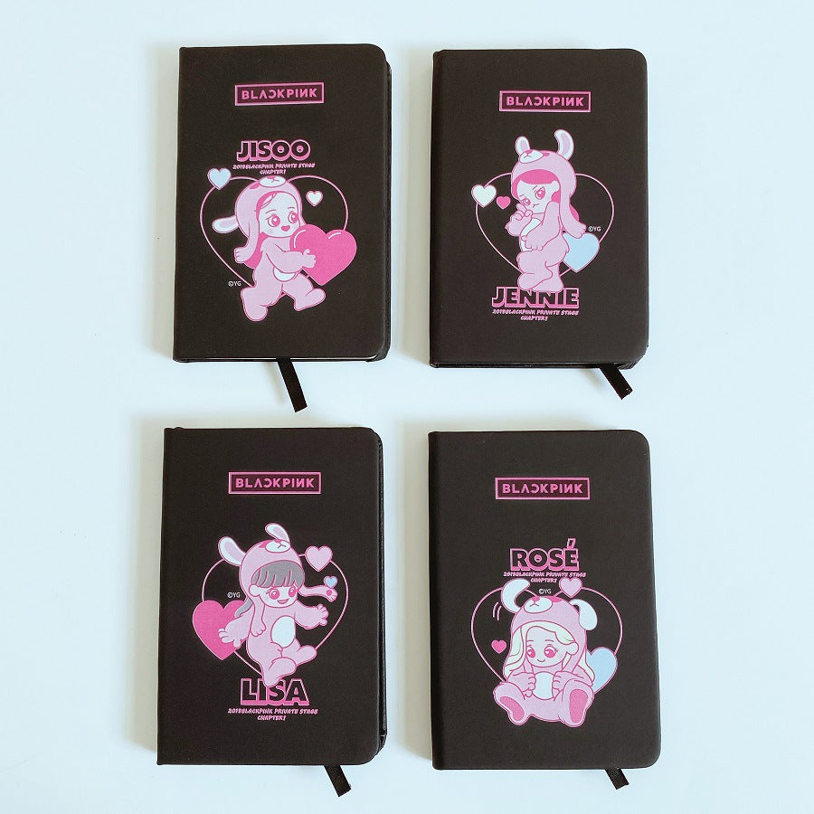 BLACKPINK Cartoon Character Notebook