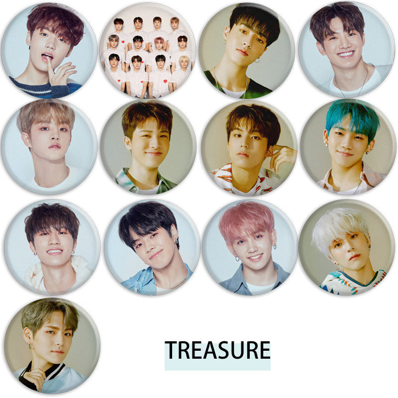 TREASURE I LOVE YOU Album Badge