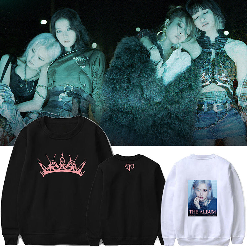 BLACKPINK The Album Printed Sweater
