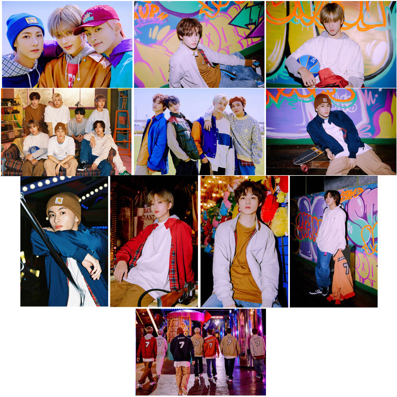 NCT DREAM 18 sheets Card Stickers
