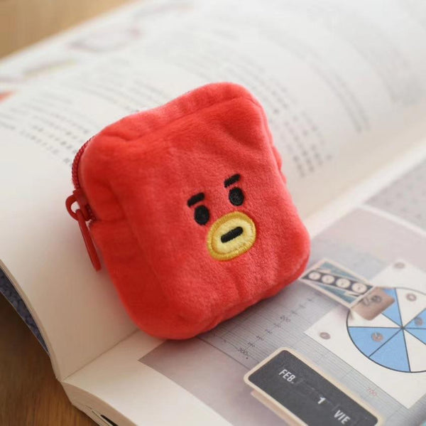 BT21 X Cute Plush Wallet - BT21 Store | BTS Online Shop