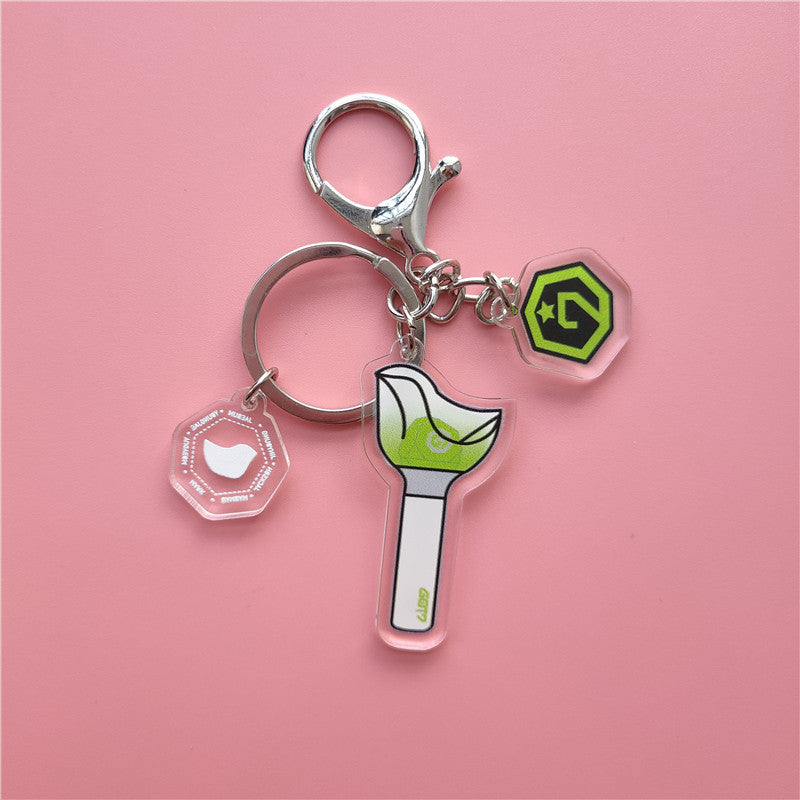 GOT7 Call My Name Bird Baby Keychain ornament