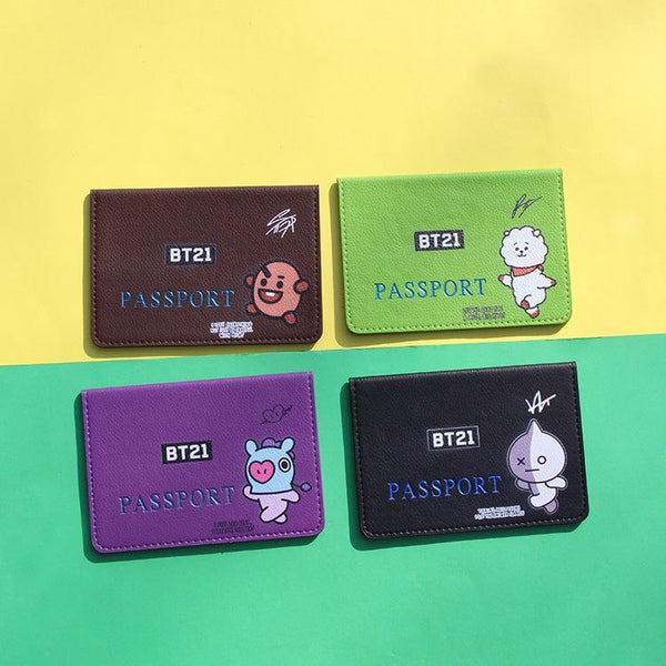 BT21 X passport holder - BT21 Store | BTS Online Shop
