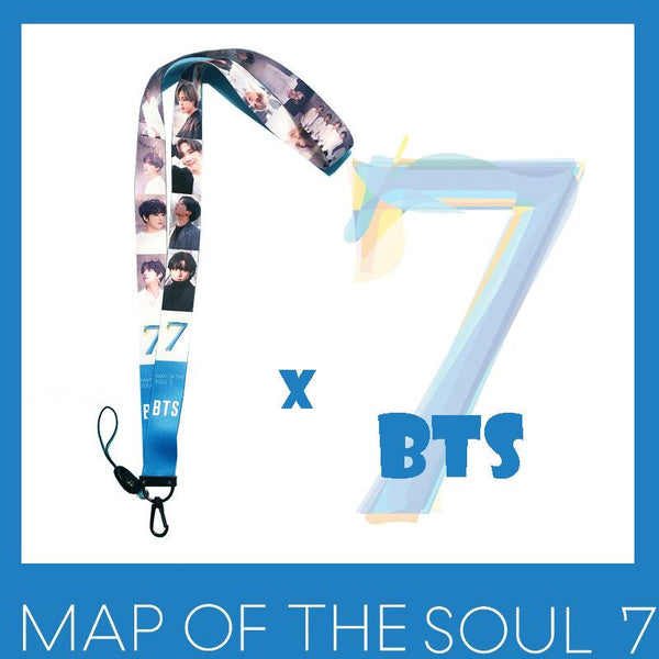 BTS X MAP OF THE SOUL:7 Mobile Phone Straps - BT21 Store | BTS Online Shop