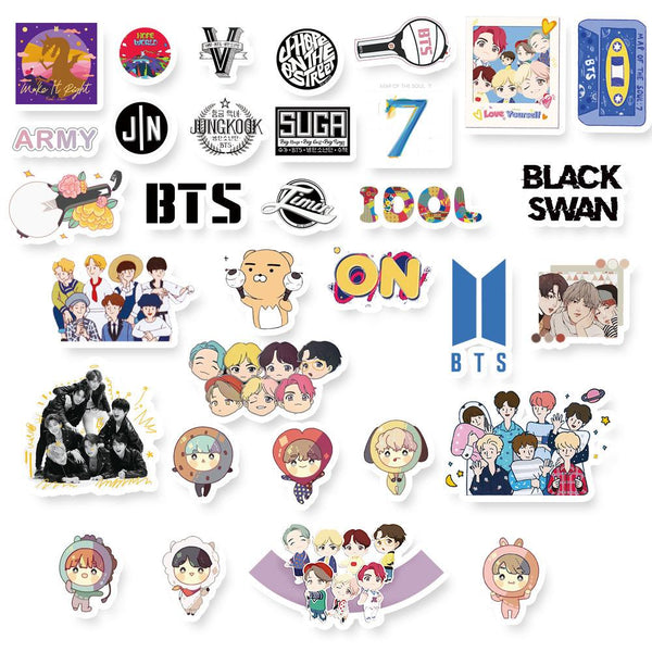 BTS X STICKERS - BT21 Store | BTS Online Shop