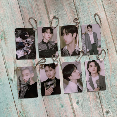 GOT7 DYE Double-sided PVC keychain Pendant
