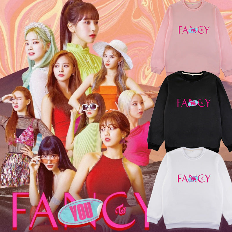 TWICE FANCY YOU Round neck Hoodie