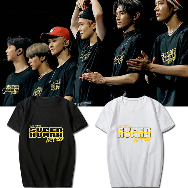 NCT127 We Are Superhuman T-shirt