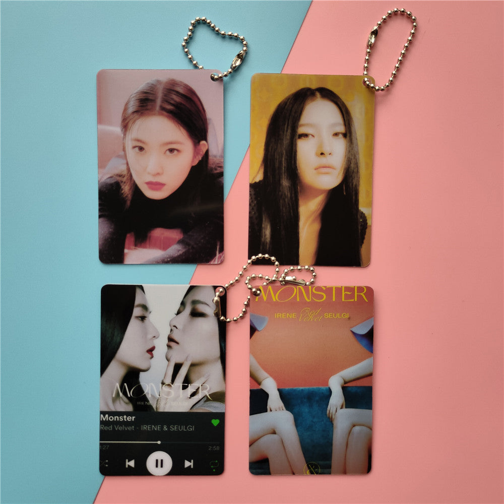 Red Velvet IRENE & SEULGI Monster Keychain