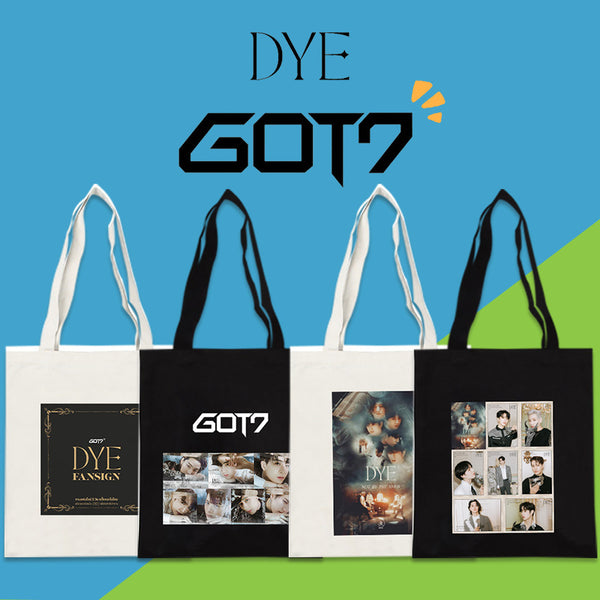 GOT7 DYE Shoulder Bags