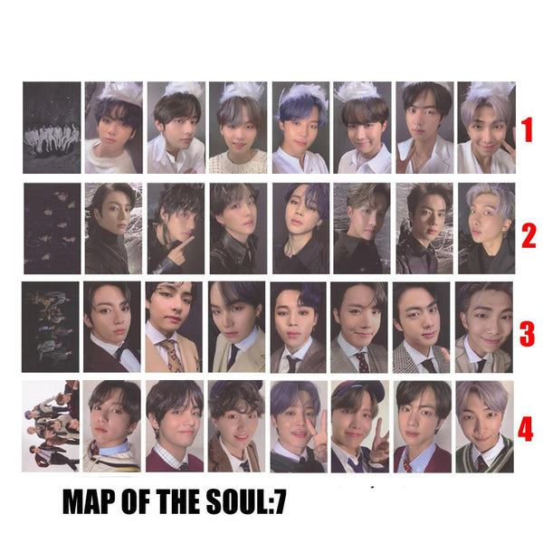 BTS X Map of the soul 7 lomo card - BT21 Store | BTS Online Shop