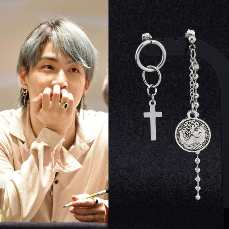 GOT7 JB Classical Asymmetric Earrings