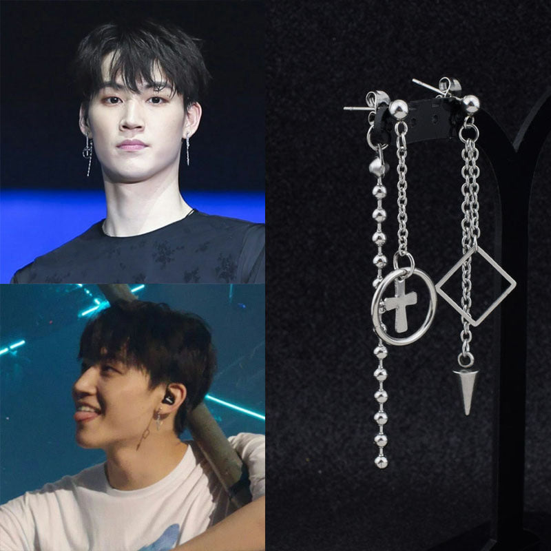 GOT7 JB Geometric Earrings