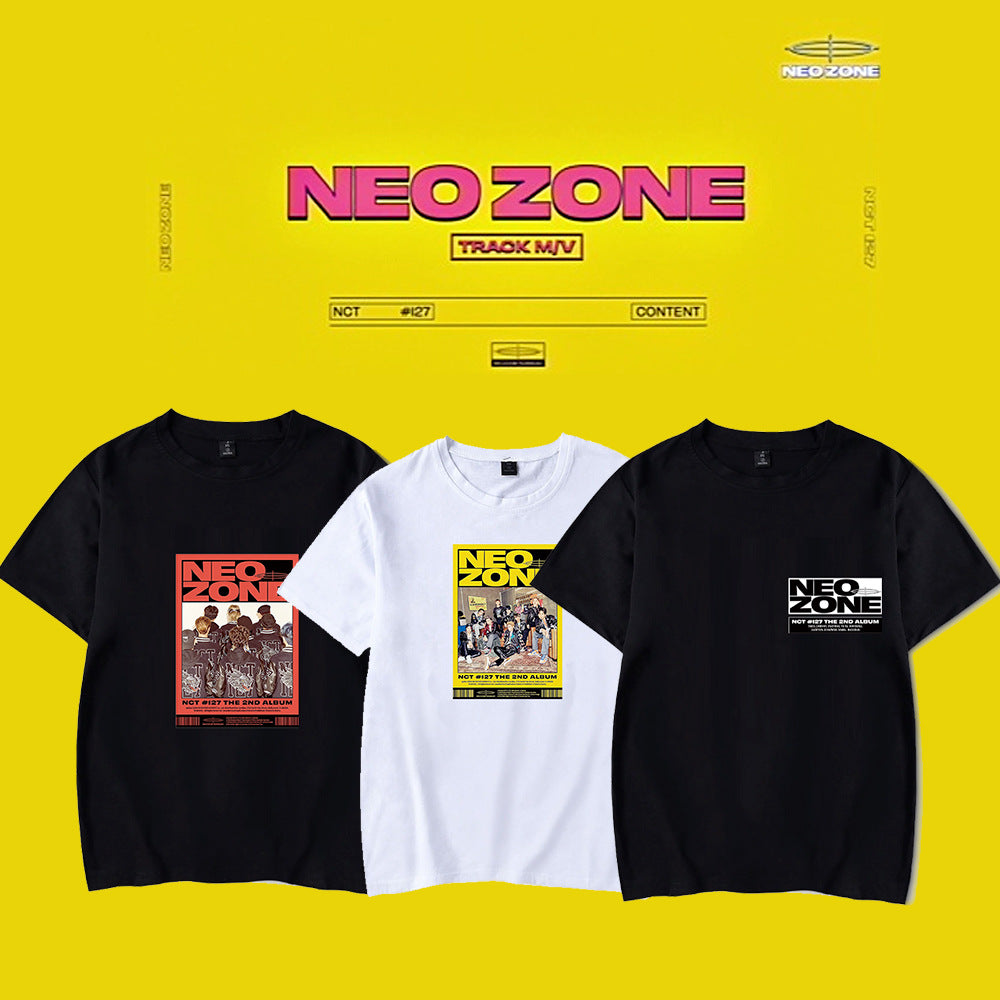 NCT 127 Neo Zone Printed T-shirt