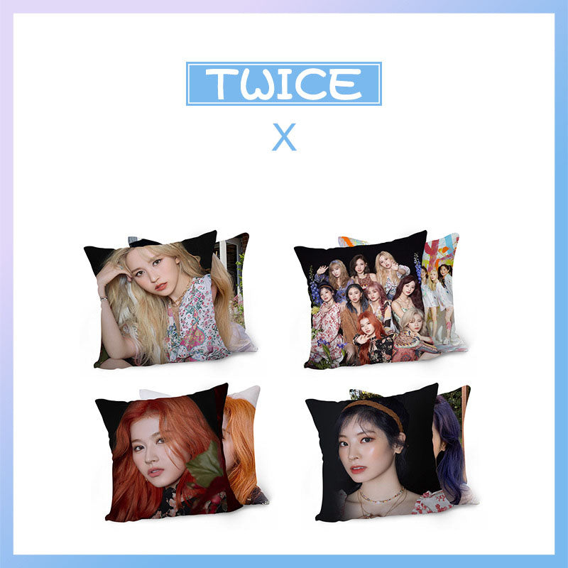 TWICE MORE & MORE Pillow