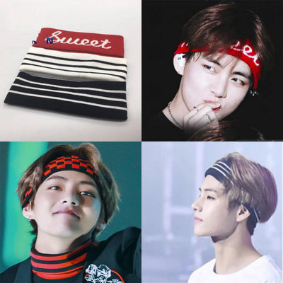 BTS Bangtan Fashion Sports Yoga Headband - BT21 Store | BTS Online Shop