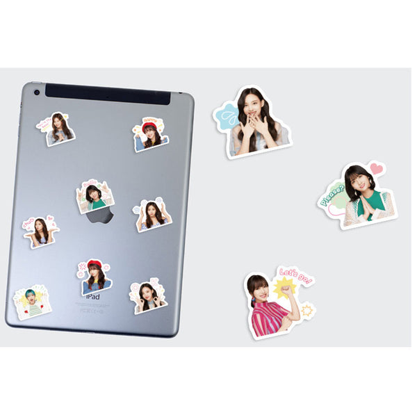 TWICE 40 Sheets Waterproof Stickers