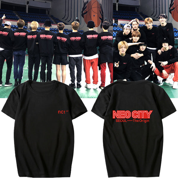 NCT127 Neo City Seoul THE ORIGIN T-shirt
