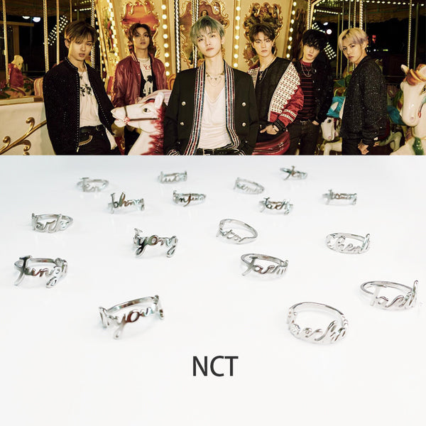 NCT Peripheral Korean Fashion Tail Ring