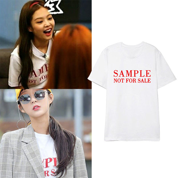 BLACKPINK JENNIE T-shirt
