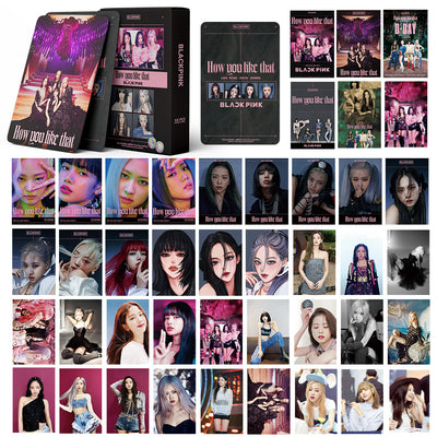 BLACKPINK How You Like That Lomo Card