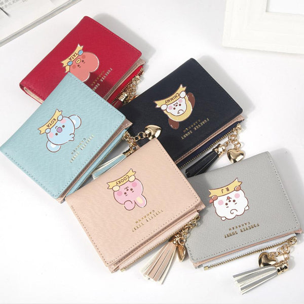 BT21 Cartoon Tassel Wallet - BT21 Store | BTS Online Shop