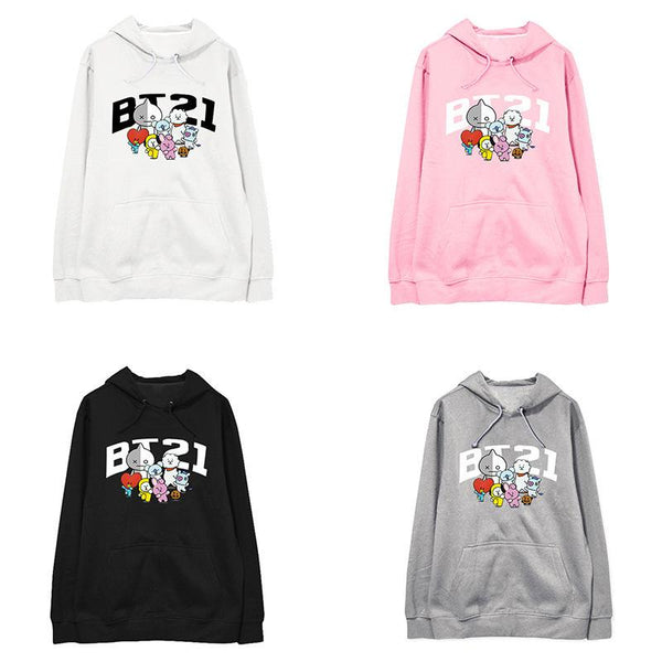 BT21 New Cute Hoodie - BT21 Store | BTS Online Shop