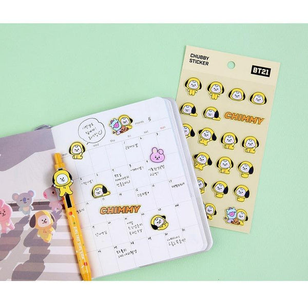 BT21 3D stickers - BT21 Store | BTS Online Shop