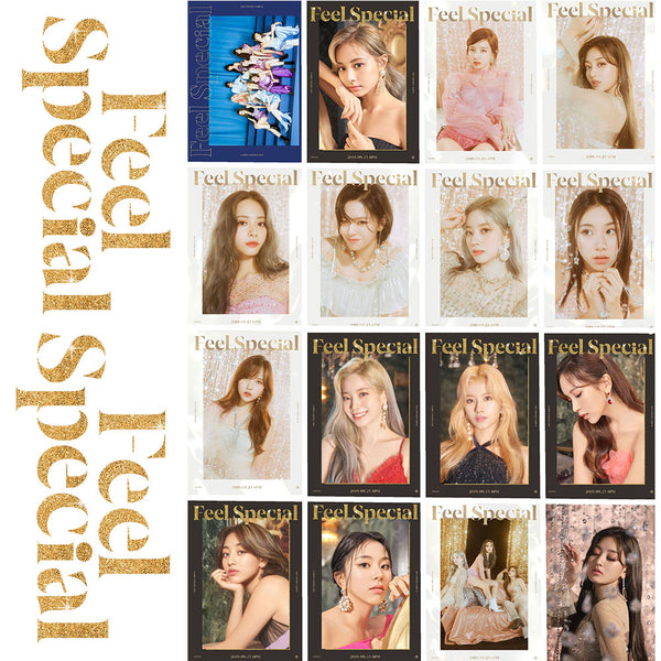 TWICE FEEL SPECIAL 16 sheets mini cards
