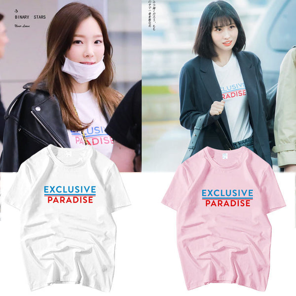 TWICE  MOMO EXCLUSIVE PARADISE T-shirt