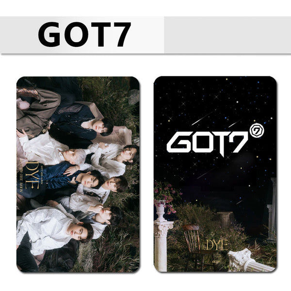 GOT7 DYE 100 Sheets Double-sided Card