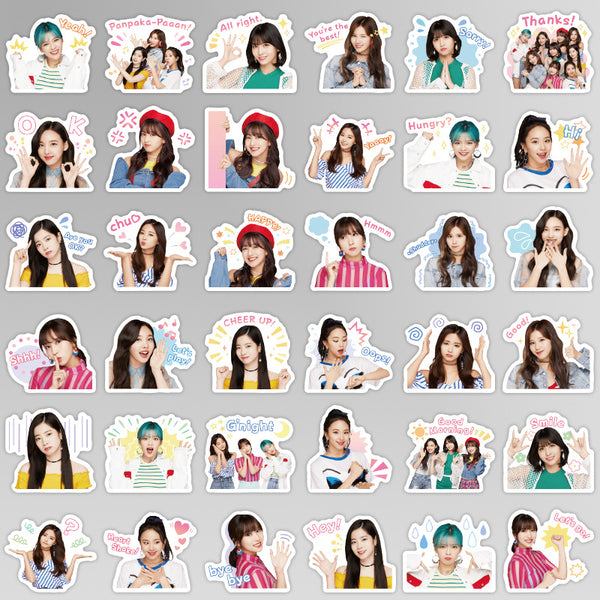 TWICE 40 Sheets  Emoji Stickers