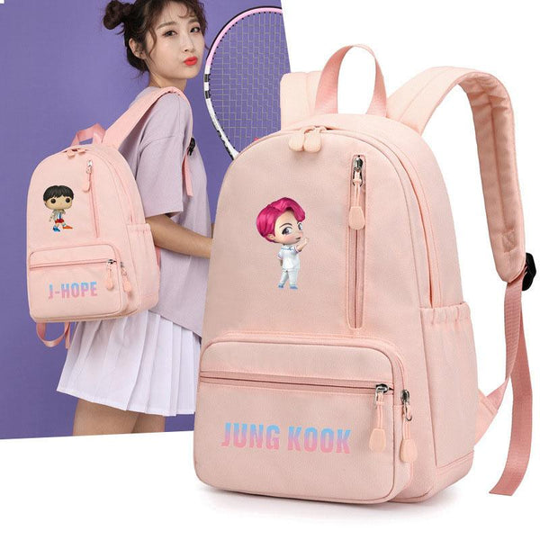 BTS Cartoon Backpack - BT21 Store | BTS Online Shop