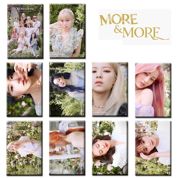 TWICE MORE & MORE 10 Sheets Stickers