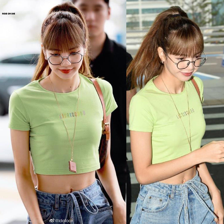 BLACKPINK LISA Short T-shirt