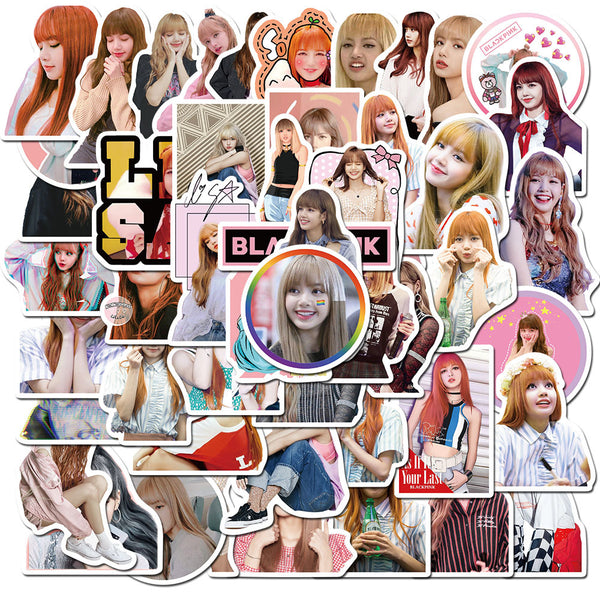 BLACKPINK LISA 50 Sheets Stickers