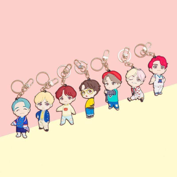 BTS POP-UP Store House of BTS Keychain - BT21 Store | BTS Online Shop