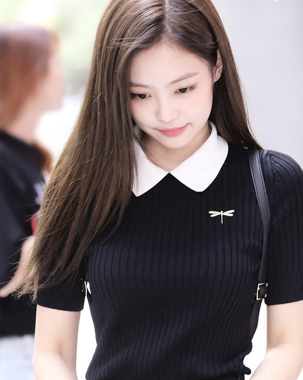 BLACKPINK JENNY POLO Short Sleeve T-shirt