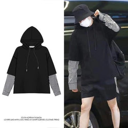 BTS Suga Long Sleeve Pullover Shirt Hoodie - BT21 Store | BTS Online Shop