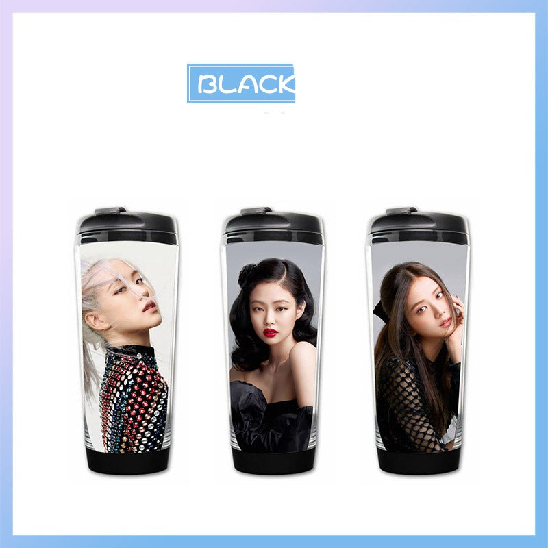 BLACKPINK ELLE October Issue Cover Curve Cup