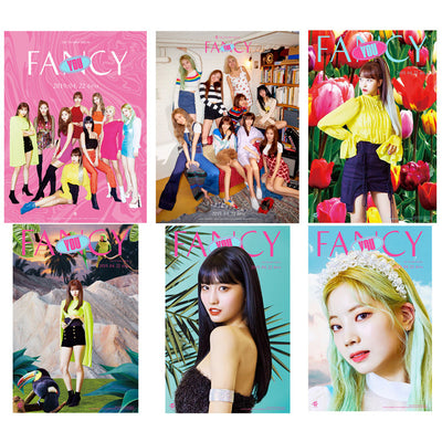 TWICE fancy you 27 sheets Crystal Card Stickers