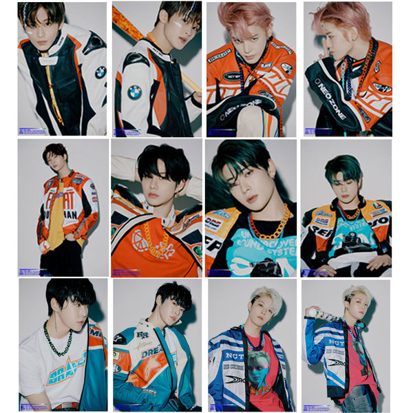NCT 127 19 Sheets Neo Zone: The Final Round Card Stickers