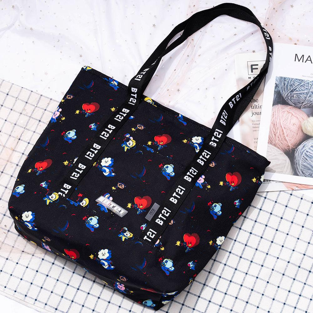 BT21 X canvas bag - BT21 Store | BTS Online Shop