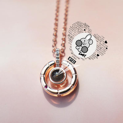 BT21 X I love you necklace - BT21 Store | BTS Online Shop