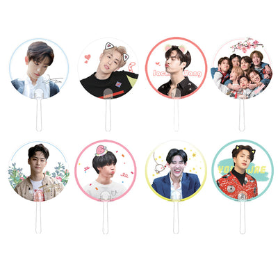 GOT7 Eyes On You Transparent Handheld Fan