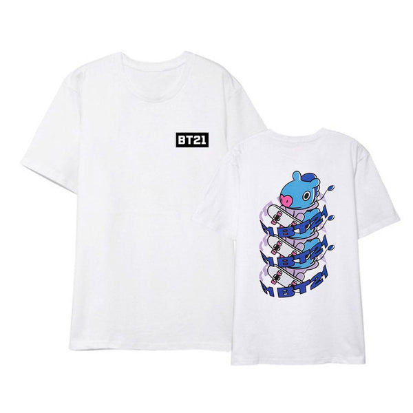 BT21 X NEW T-SHIRT - BT21 Store | BTS Online Shop