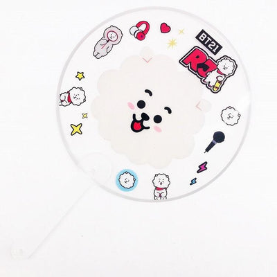 BT21 X Transparent fan - BT21 Store | BTS Online Shop