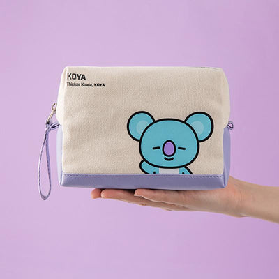BT21 X Cosmetic bag - BT21 Store | BTS Online Shop